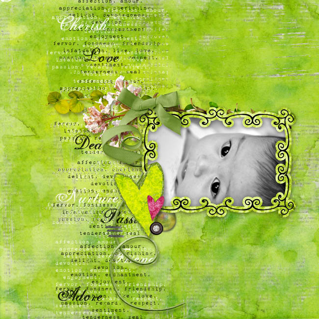 BABY LOVE by Roben Marie with Merry Love Kit